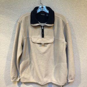 AZSPORT sweatshirt 1/4 zip pocket on chest Sz S